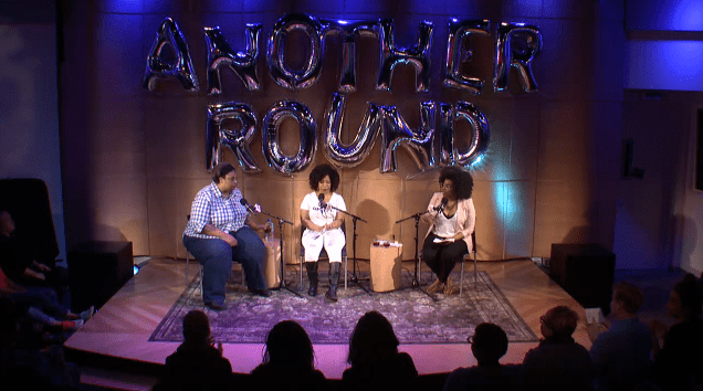 Buzzfeed's 'Another Round' tapes live in The Greene Space with author Roxane Gay