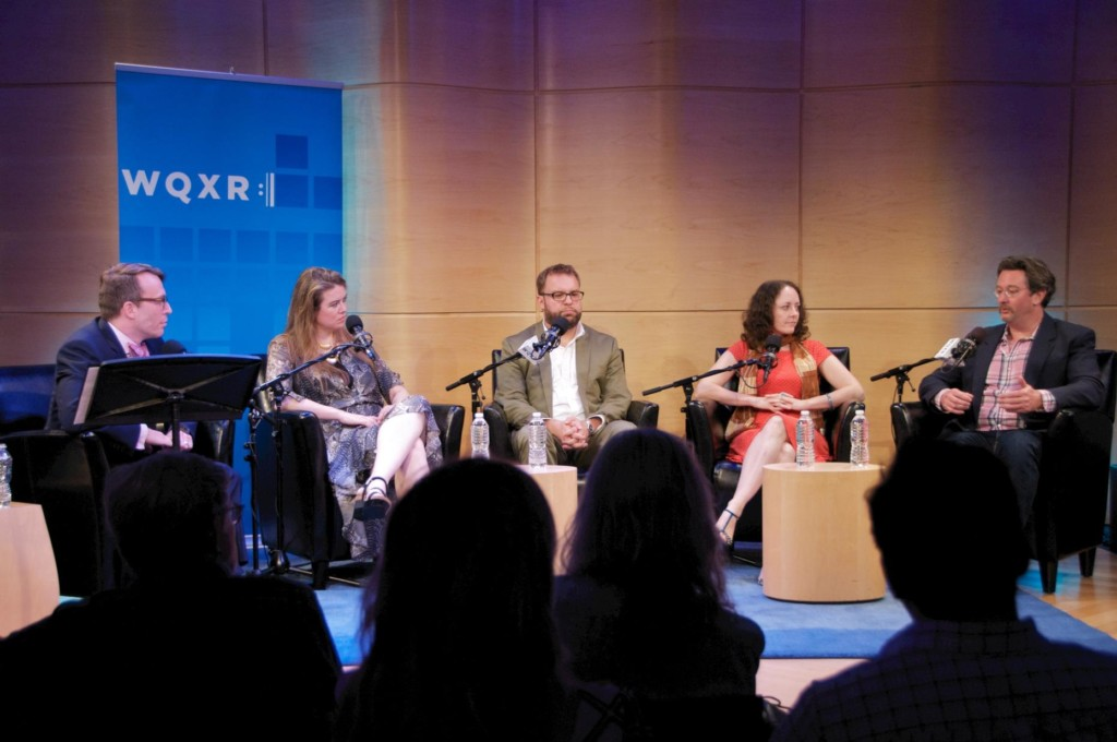WQXR's 'Classical Music Unfiltered' conversation in The Greene Space