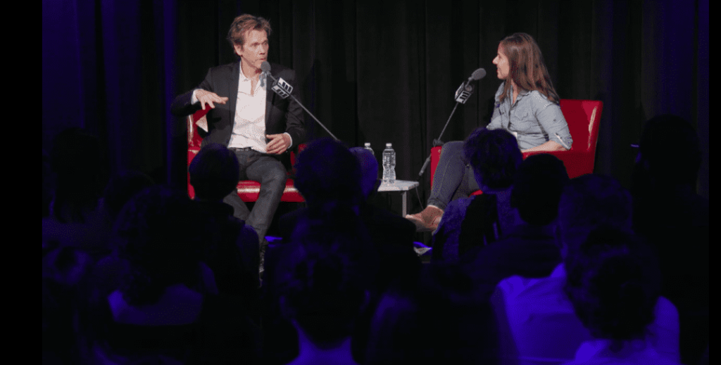 Kevin Bacon in conversation with Death, Sex & Money's Anna Sale live in The Greene Space