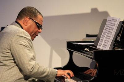 Donal Fox performs in The Greene Space