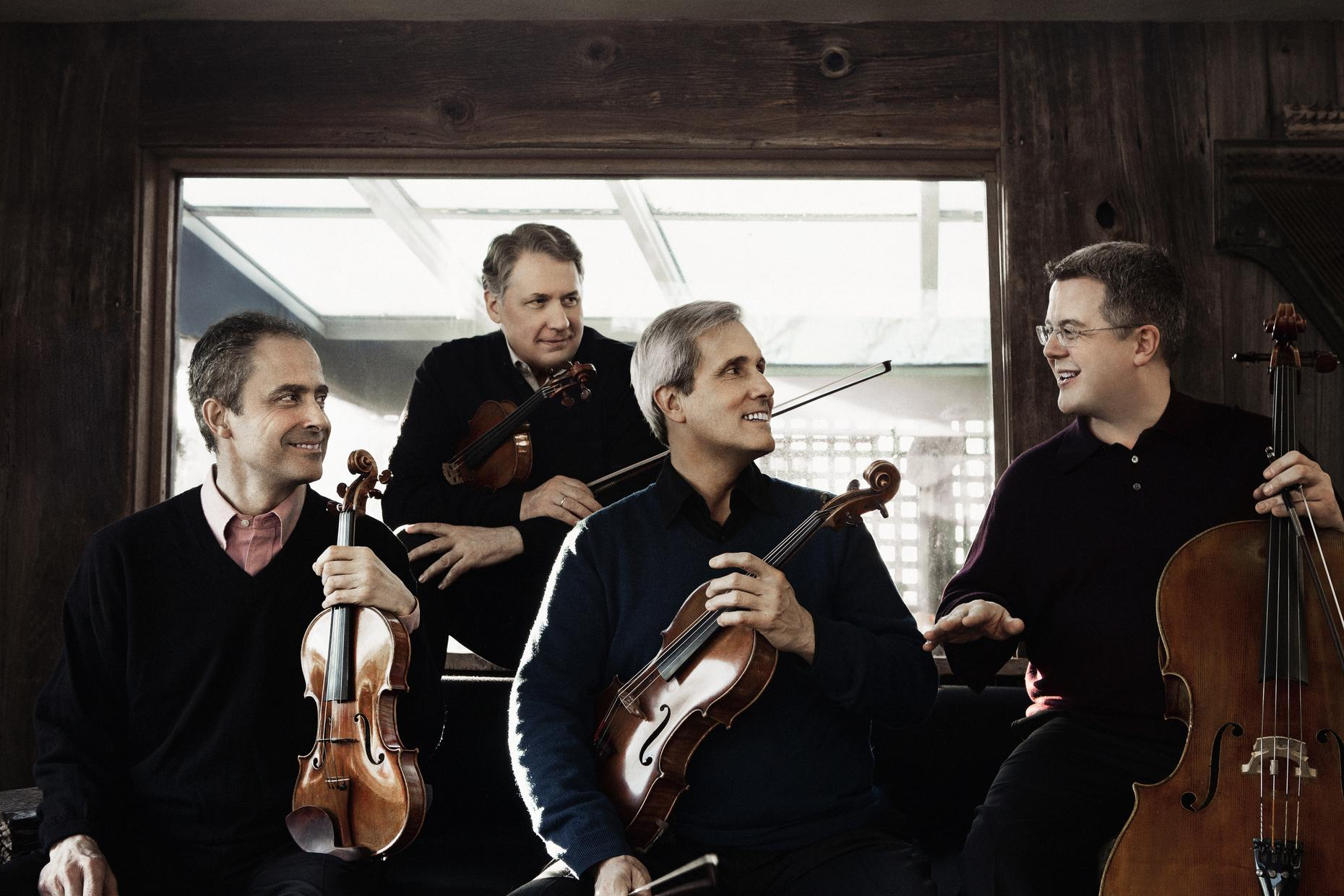 Music Break: Revisit the Emerson String Quartet's 40th Birthday Party