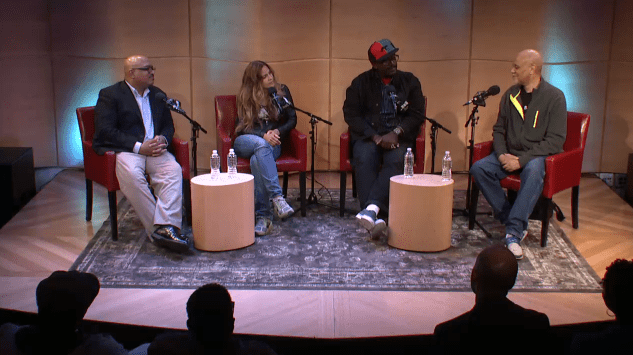 Veteran artists Bill Stephney, Darnell Martin and Fab 5 Freddy talk hip hop and Hollywood with Warrington Hudlin of the Museum of the Moving Image live in The Greene Space.