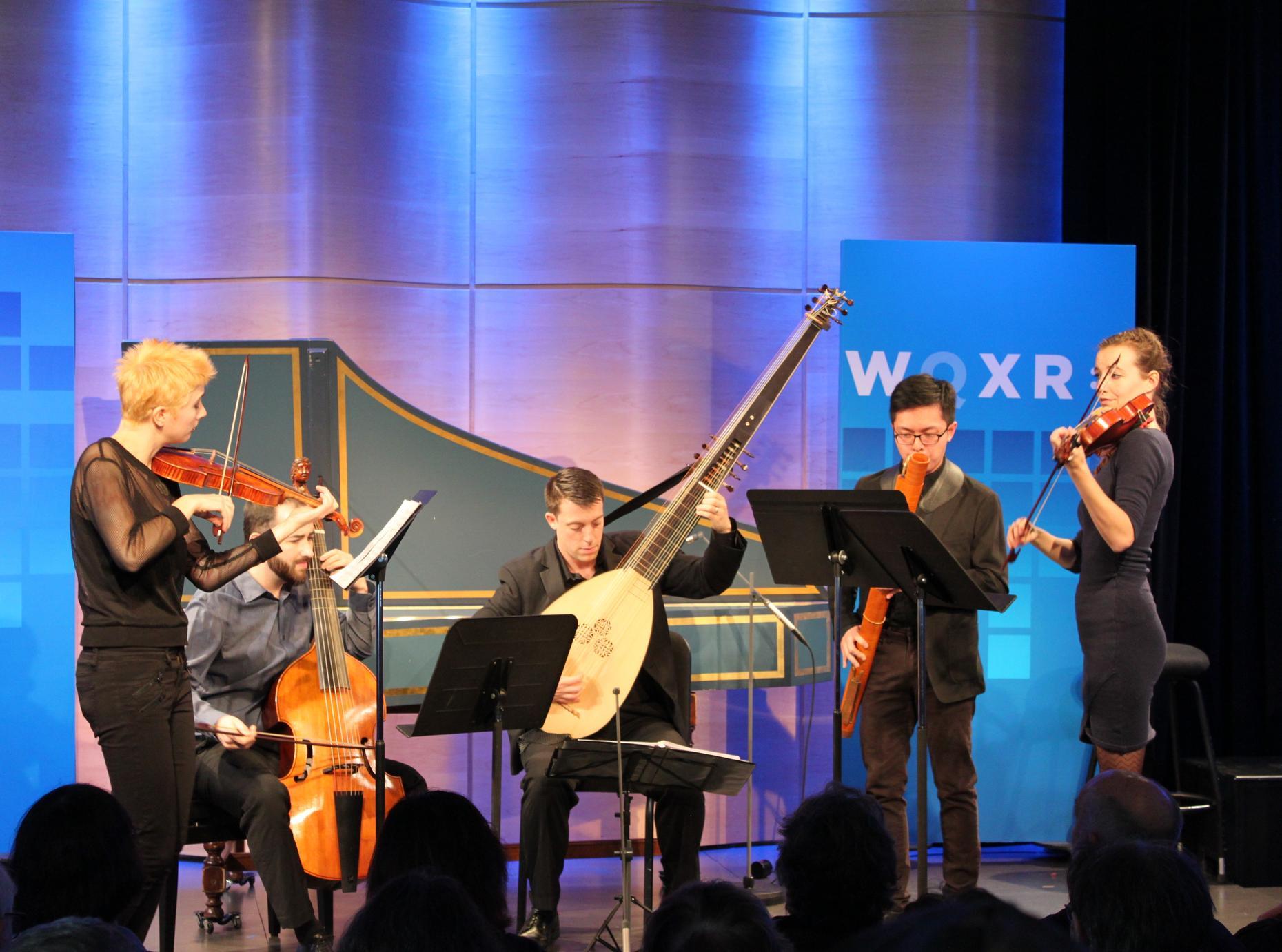 WQXR's Midday Masterpieces: Musicians From Juilliard's Historical Performance Program