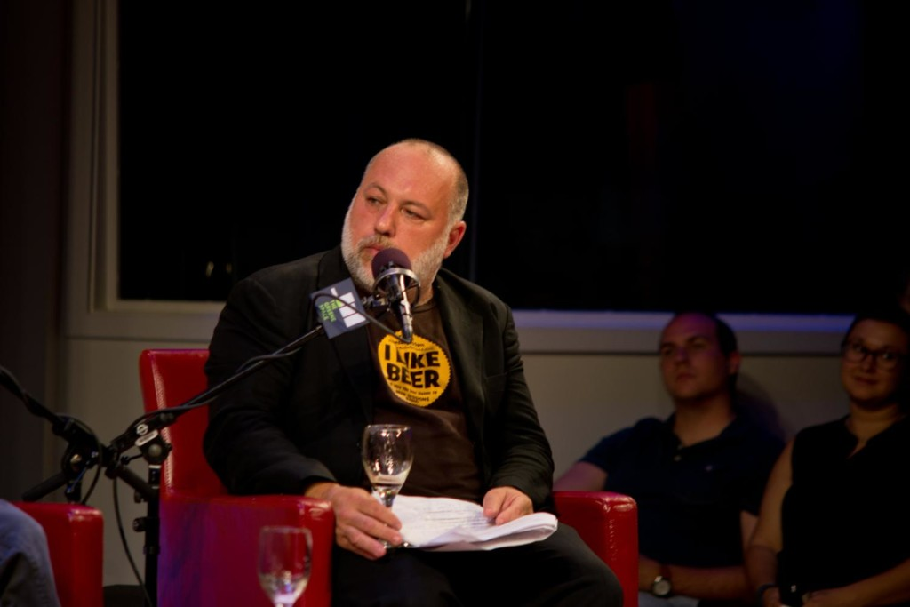 Craft Beer Jam Host Jimmy Carbone