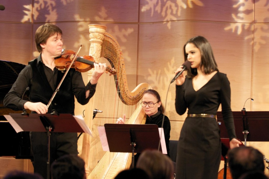 Joshua Bell and friends perform holiday music live in The Greene Space
