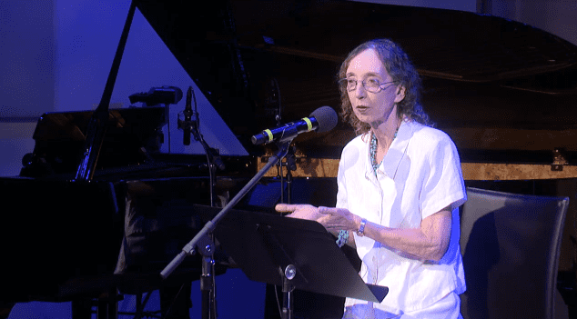 Joyce Carol Oates reads her work live in The Greene Space