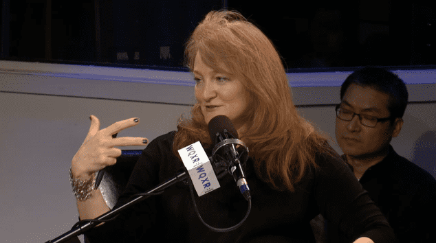On Being host Krista Tippett in a live taping at The Greene Space