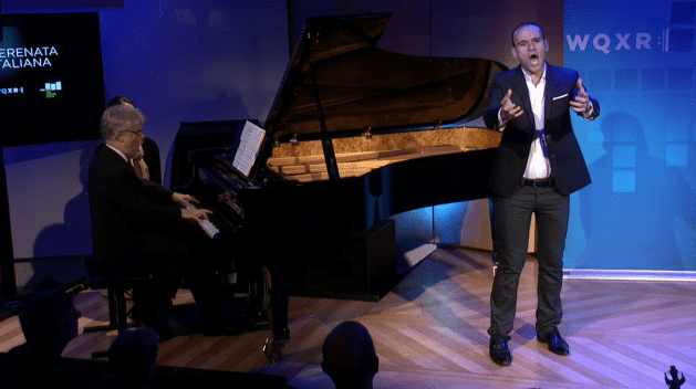 Tenor Michael Fabiano performs live in The Greene Space