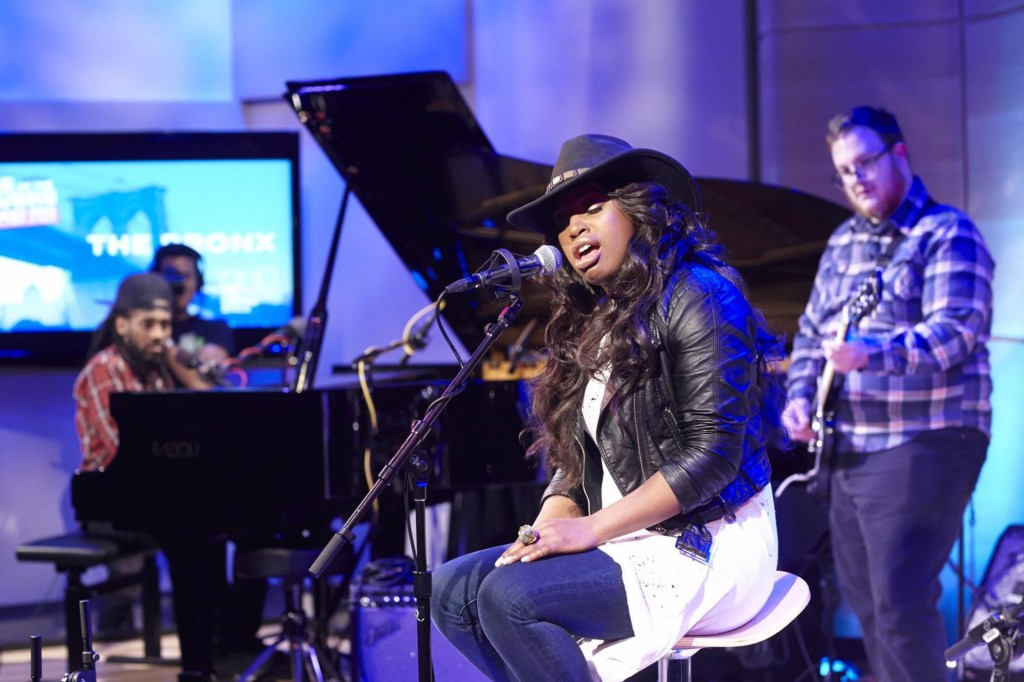 Tatiana Scott performs at the Bronx Battle of the Boroughs