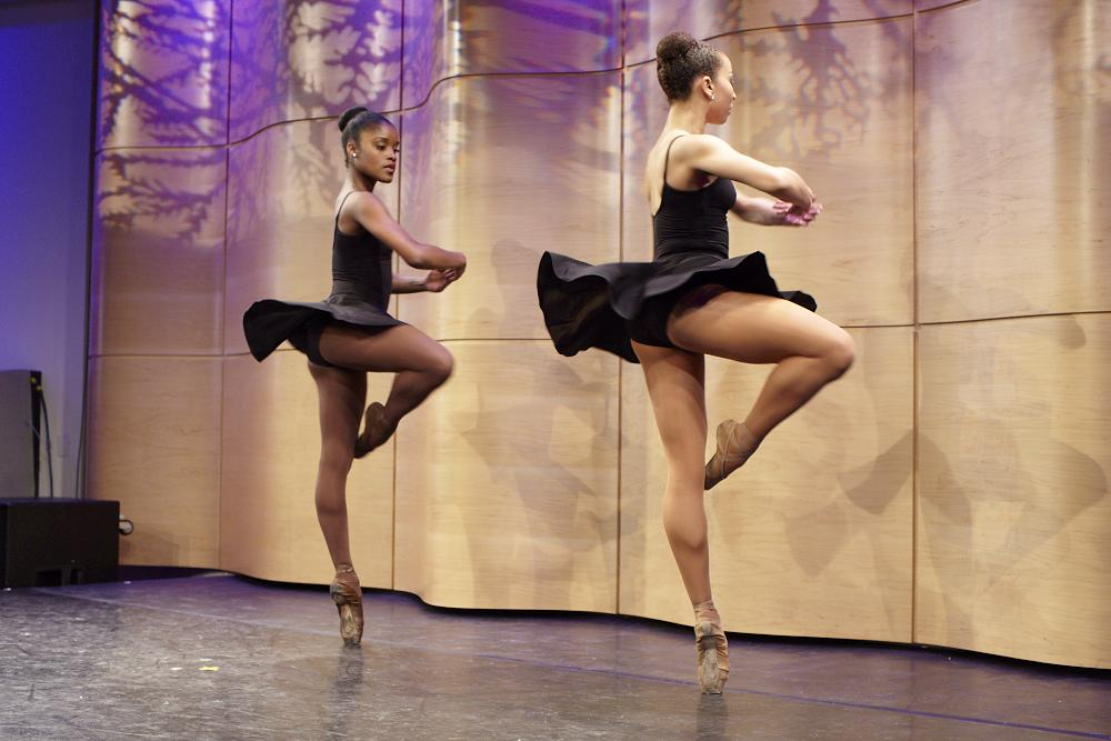 Ingrid Silva and Stephanie Rae Williams, Dance Theatre of Harlem