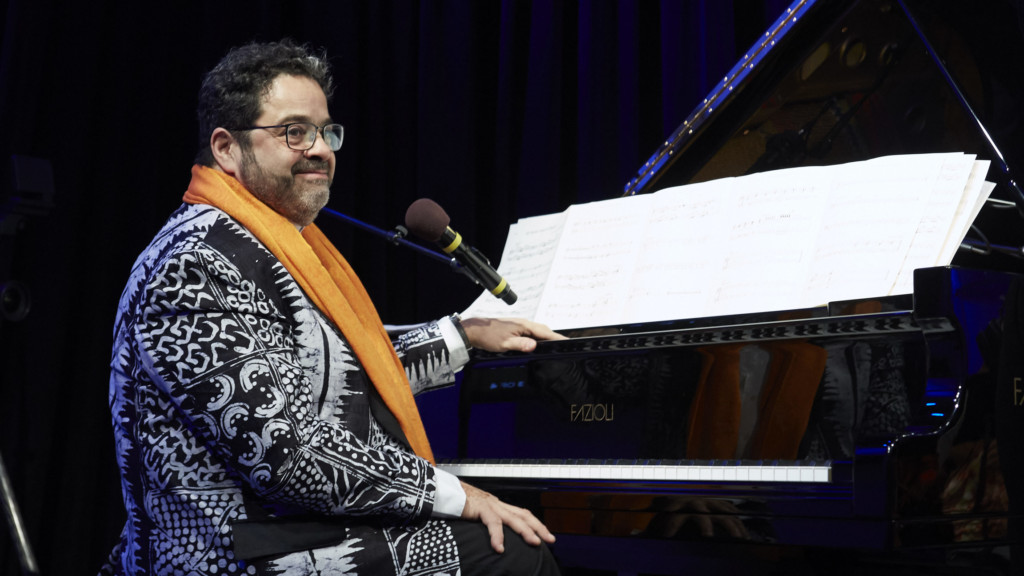 Arturo O'Farrill performs live in The Greene Space