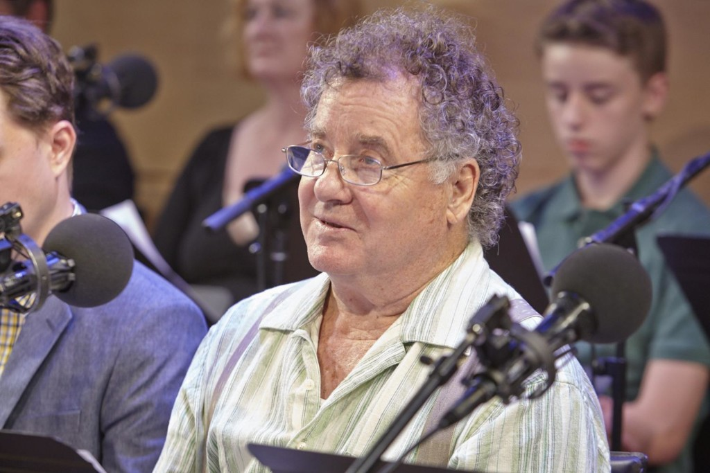 Peter Gerety in The Greene Space's production of 'Dubliners: A Quartet'