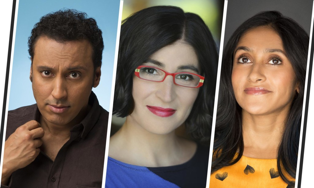 Comedians Aasif Mandvi and Aparna Nancherla join Fake the Nation host Negin Farsad for a live taping of the comedy show about politics without any of the politics about politics.