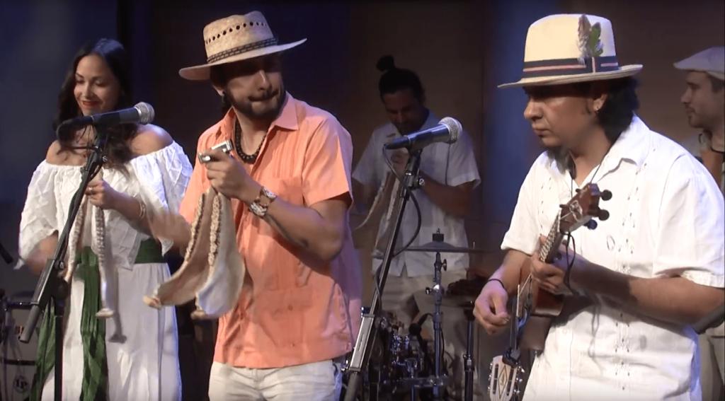 Jarana Beat perform live in The Greene Space