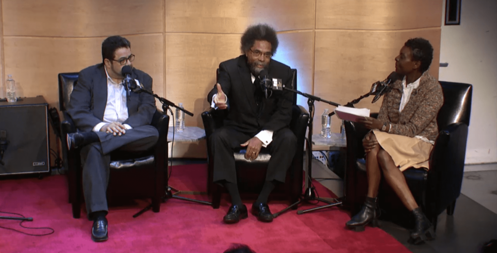Composer Arturo O'Farril, scholar Cornel West and Q2 Music's Helga Davis discuss the connection between jazz and spiritual traditions in The Greene Space