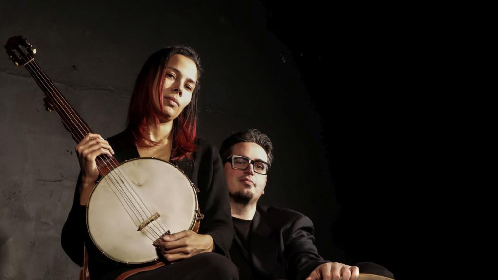 Rhiannon Gidden and Francesco Turrisi. (Photo by Karen Cox)
