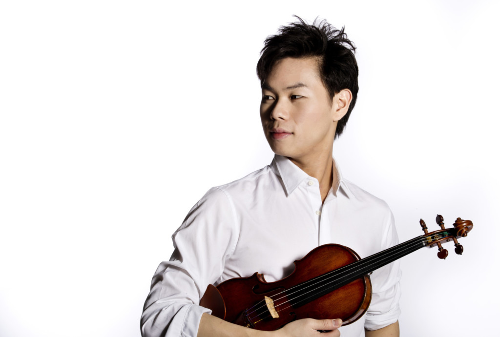 Violinist Timothy Chooi
