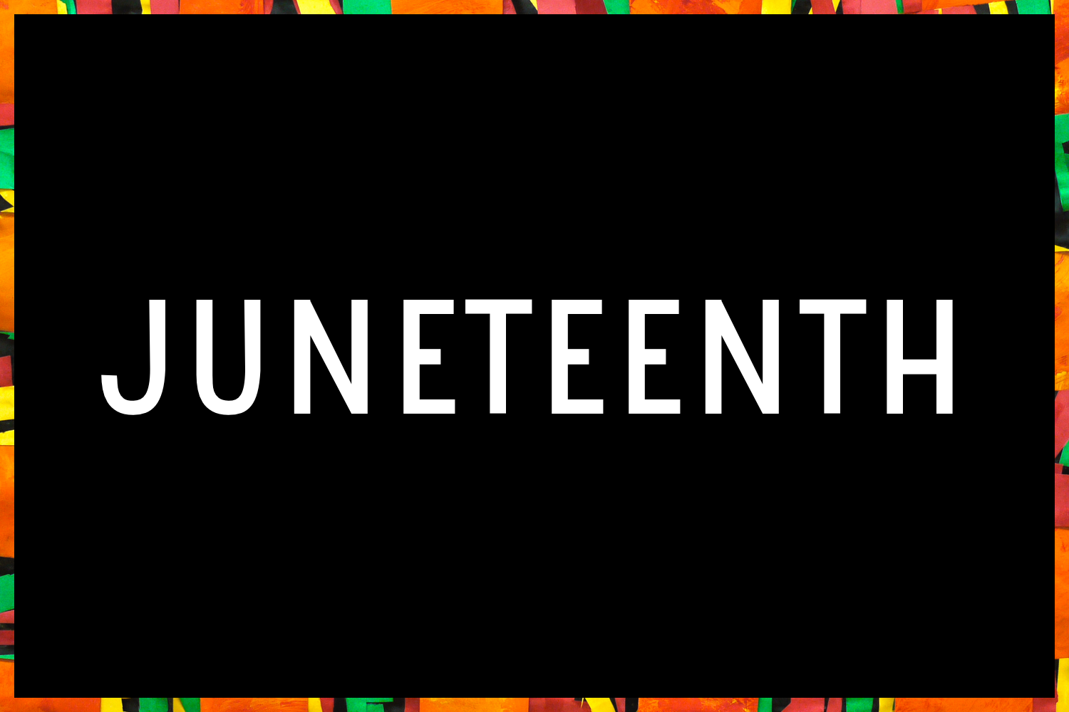 A Juneteenth Celebration